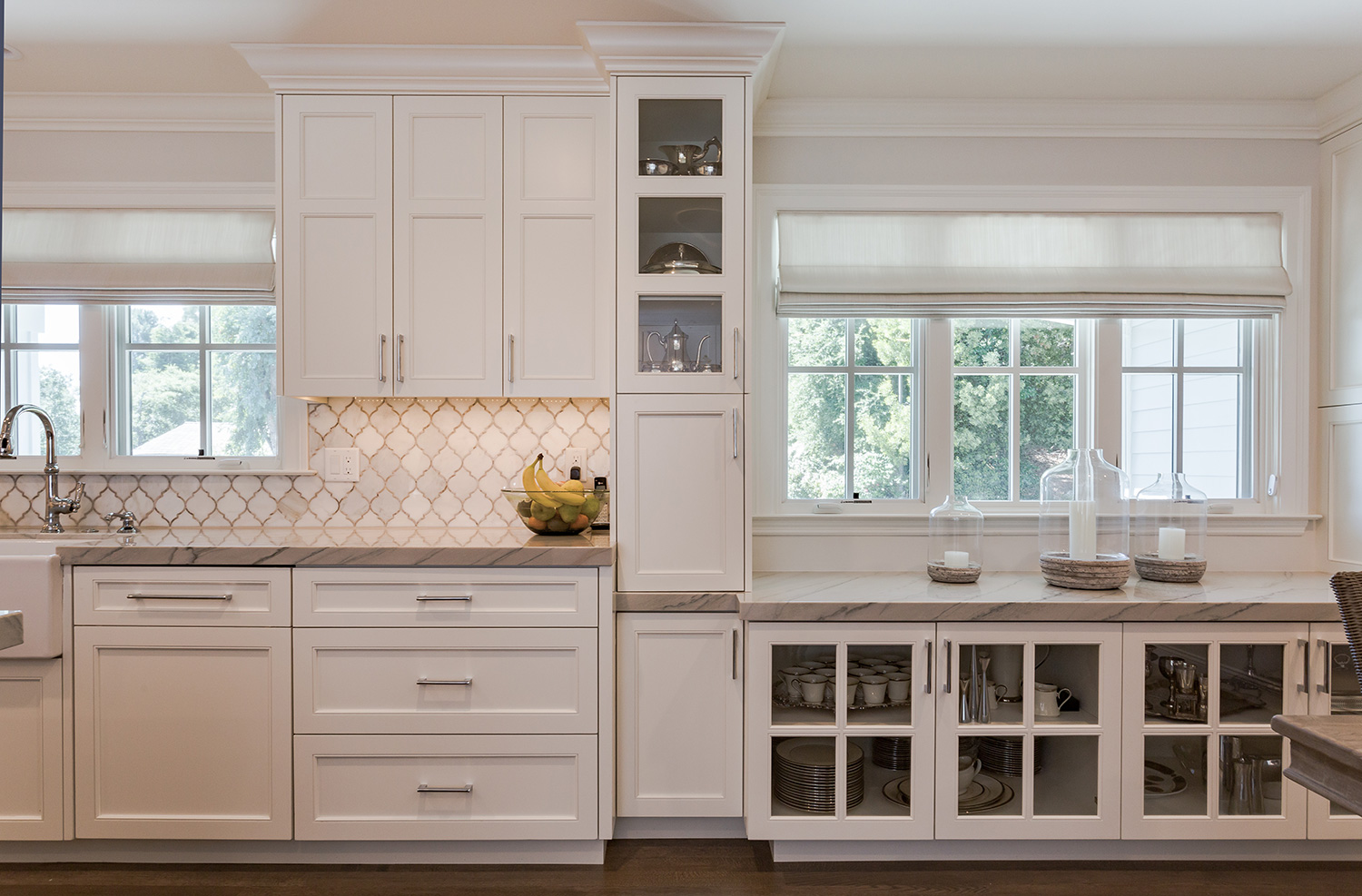 banner home order white kitchen